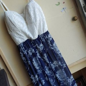 Poetry Lacey Bodice Frock